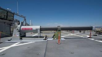 Vés a: L'Armada dels EUA enllesteix el canó electromagnètic