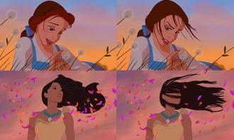 Com serien les princeses de Disney si tinguessin cabells de veritat?