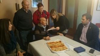 100 anys de Josep Pruna Pasarell, veí de Sant Pere de Vilamajor