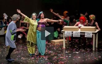 Vídeo íntegre de l'esbojarrada presentació del Carnaval de Torelló
