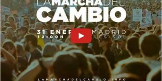 Vés a: Vídeo en directe: «La Marxa del Canvi» de Podem a Madrid
