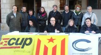 Vés a: La CUP i Procés Constituent segellen el pacte electoral a Balaguer