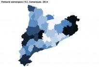 La població estrangera al Gironès cau un 5,1% el 2014