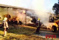 S'incendia un paller a Sant Pere de Torelló