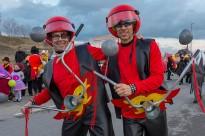 El Carnaval omple de color els carrers d'Osona