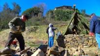 Cànoves torna a reviure l'artesania del Carboneig