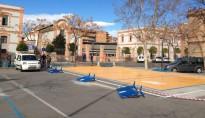 Adeqüen 4 places de pàrquing per autocaravanes a la zona blava Riudoms
