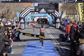 Kipsang reedita victòria a la Mitja Marató de Granollers