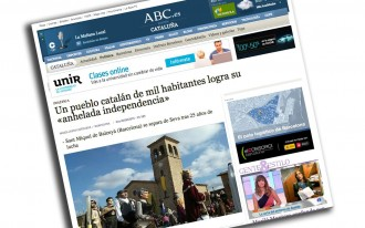 La falsa «independència» de Sant Miquel de Balenyà triomfa al diari «ABC»