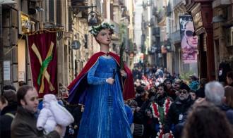 Arriba Santa Eulàlia, la festa major d'hivern de Barcelona