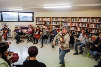 El so dels violins envaeix Argelaguer