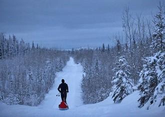 Darrer dia de competició per a Joel Jaile a l'èpica Yukon Artic Ultra