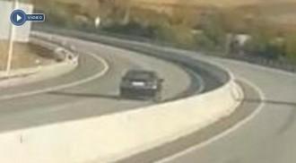 Vídeo del cotxe en sentit contrari que va provocar l'accident mortal a l'Eix