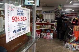 Una llibreria de Celrà reparteix més de 900.000 euros d'un premi de la Primitiva