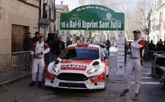 Josep M. Membrado guanya amb autoritat el Ral·li Esprint Sant Julià