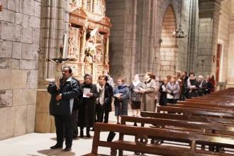 El ViaCrucis a la Catedral inicia la Quaresma a Solsona