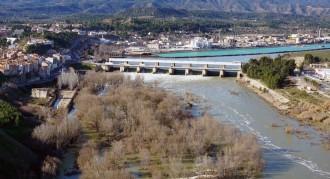 Els pantans de l'Ebre eleven el cabal del riu fins als 1.550 m3/seg