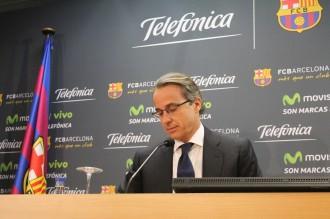 Faus: «La samarreta del Barça val entre 40 i 50 milions d'euros»