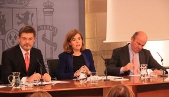 Vés a: Santamaría avala la suspensió de Vidal per evitar la politització de la justícia