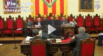 Vídeo del ple municipal de febrer a l'Ajuntament de Terrassa