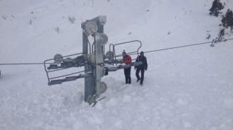 Tavascan diu adéu a la temporada d'alpí a causa de les intenses nevades