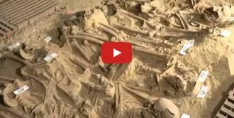 Descobreixen 200 esquelets enterrats sota un supermercat del centre de París