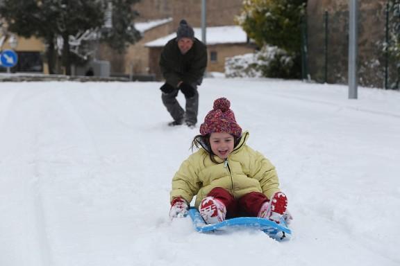 Un total de 228 alumnes es queden sense escola per la neu