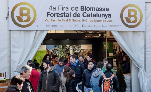Vés a: La Fira de la Biomassa reuneix a Vic un centenar d'empreses i institucions