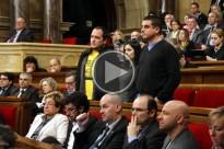 Vés a: Encausats els 22 imputats pel setge al Parlament