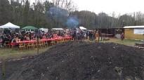 Els carboners de Cànoves, a punt d'extreure el carbó