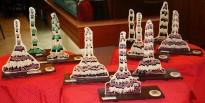 Arriben les mones de les quatre colles castelleres de Tarragona