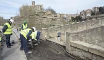 Prospeccions arqueològiques per a la passera al Pont Vell