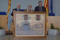 Un quadre de Miquel Duran decorarà el nou Hospital Comarcal