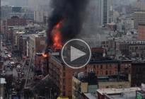 Vés a: Un espectacular incendi al centre de Nova York deixa 19 ferits
