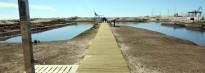 Calafell recupera una zona de dunes i aiguamolls al Port de Segur