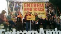Vés a: La CUP vol fer de Barcelona «un motor de la independència dels Països Catalans»