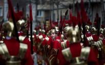Soldats Romans de Besalú, Mieres i Les Planes, a la gran trobada d'armats de Girona