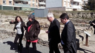 Ferran Mascarell avala la continuïtat del «modèlic» Camp de les Lloses