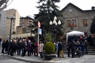 Cues davant els col·legis electorals d'Andorra per exercir el dret a vot