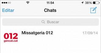 El 012 inclou «Telegram» en el seu servei de consultes ciutadanes