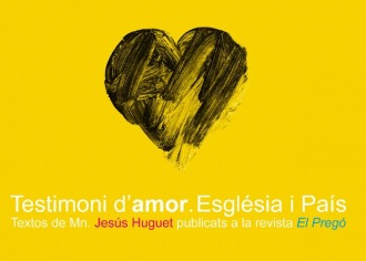 El llibre Testimoni d'amor. Església i País ja es pot comprar anticipadament