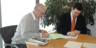 L'Escola Agrària i L'Era signen un conveni de col·laboració
