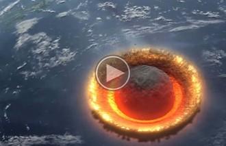 Vés a: Què passaria si un asteroide de 500 km de diàmetre impactés contra la Terra?