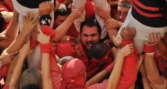 El cap de colla del millor any dels Castellers de Barcelona