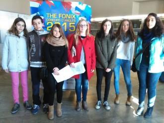 7 alumnes de l'Institut al concurs de llengua anglesa FONIX