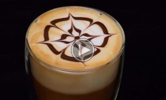 «Art-latte», com fer dibuixos al cafè pas a pas