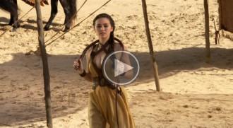 Noves imatges de «Joc de Trons»: les armes de Dorne i les seves guerreres