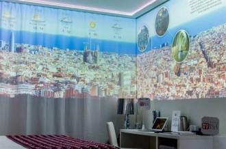Com seria l'habitació d'un hotel del futur?