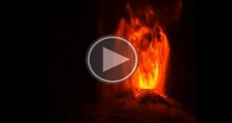 Impactants imatges de l'erupció del volcà xilè Villarrica