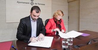Castellbisbal i Terrassa col·laboraran en la prestació de serveis socials